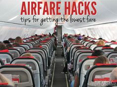 Tired of paying a fortune for airfare? Today I have 6 Ways to Save on Airline Flights. These are simple hacks you can try to make sure you are getting the lowest price. Some of these you may already know but I bet you'll find one or two new tips on this list!