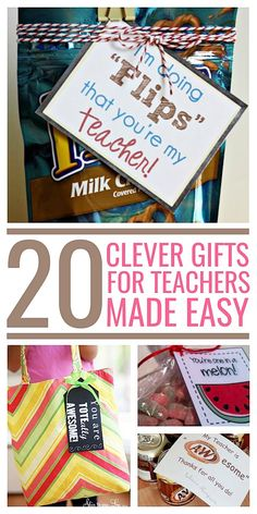 20 Clever Gifts for Teachers Made Easy