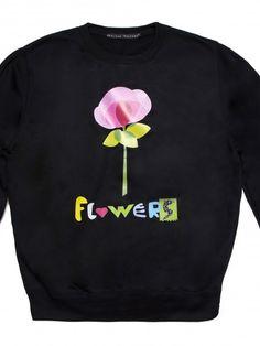 """Sudadera """"Flowers"""""""