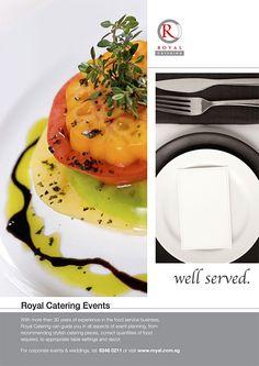 Wedding Catering Advertisement   Design - Newspaper & Magazine Ads ...