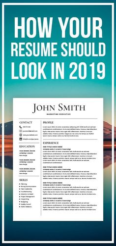Best Resume Templates: Resume Template – CV Template with Cover Letter – MS Word on Mac / PC – Design -… Resume Writing Tips, Resume Tips, Resume Cv, Basic Resume, Resume Summary, Resume Ideas, Resume Skills, Sample Resume, Job Interview Questions