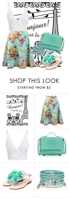 """Untitled #319"" by mira-wiryanti ❤ liked on Polyvore featuring Blumarine, Foley + Corinna, Rupert Sanderson and Accessorize"