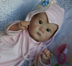 Моя Дашенька, кукла реборн из молда Пикси