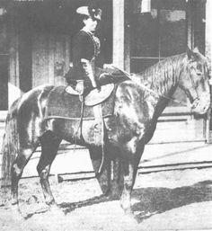 "Belle Starr ""Outlaw Queen"" Old Pictures, Old Photos, Vintage Photos, Vintage Cowgirl, Vintage Horse, Vintage Ladies, Cowboy Art, Western Cowboy, Outlaw Women"