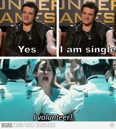 Yep, it's another The Hunger Games joke..
