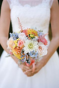 Beautiful Wedding Flowers by Season - Wedding Flowers by Season - Southernliving. These wedding flowers by season will help you choose the star of your floral décor, but don't neglect the fillers. Choose one of these unique floral options for an unmistakable Southern touch.  Spring: branches of apple, cherry, dogwood, forsythia, orange, and quince blossoms Summer: peegee and oakleaf hydrangeas, lemons, limes, and succulents Fall: cotton bolls, berry branches, curly willow, fig branches…