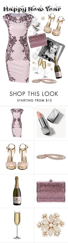 """Happy New Year!"" by pomy22 ❤ liked on Polyvore featuring Burberry, Gabor, Judith Leiber, Nude, Schreiner and vintage"