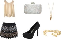 """Glam"" by beearafaela on Polyvore"