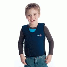 weighted compression vest is made to calm and provide steady proprioceptive input, as the combined pressure and weight functions as a reassuring deep hug.