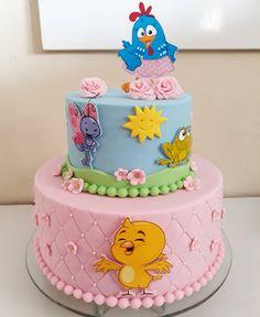 Rodeo Birthday, Baby Girl Birthday, Birthday Cake, Happy Birthday, Baby Cakes, Bolo Angry Birds, Winnie The Pooh Cake, Diy Birthday Decorations, Cake Decorating Techniques