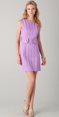 Love this: Aris Belted Shift Dress @Lyst