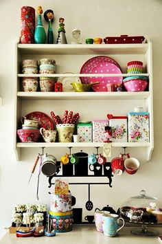 *** jazzing up the kitchen with colorful accessories