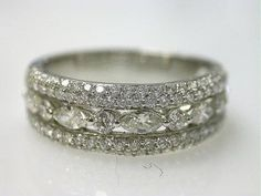 Vintage Diamond Band