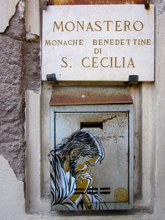 C215 - Roma....beautiful street art in Rome.