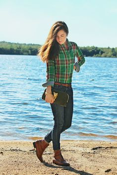 Women's Fashion Penfield Haverhill Flannel Shirt Look Madewell Fall 2012