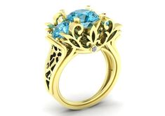 The Garden of Love 14k Two-Tone Unique and Exceptional