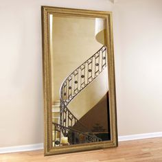 Have to have it. Nancy Oversized Mirror - 40W x 78H in. - $479.98 @hayneedle.com