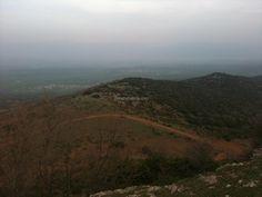 Walking in Vourinos mountain