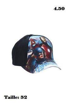 Casquette neuf et certifié Avengers