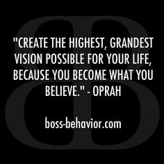 Oprah is a boss Great Quotes, Quotes To Live By, Me Quotes, Motivational Quotes, Inspirational Quotes, Business Motivation, Daily Motivation, Motivation Inspiration, Boss Bitch Quotes