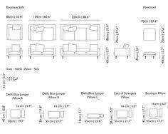 Standard Sofa Dimensions In Meters Arsitektur Mebel Ruangan