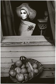 Photo by Jeanloup Sieff for Harper's Bazaar, Palm Beach, 1964.