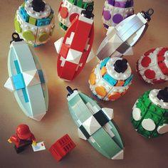 Lego - cool christmas tree ornaments