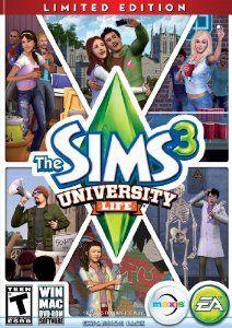 Amazon.com: The Sims 3 University Life: PCMac: Video Games