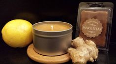 Check out this item in my Etsy shop https://www.etsy.com/listing/500539130/fresh-ginger-soy-candle