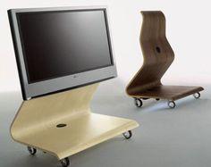 Modern Mobile TV Stand Shelterness мебеРь Pinterest