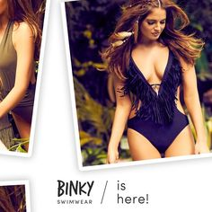 AND, IT'S HERE!   Binky's entire swimwear collection is now available online! GO GO GO  inthestyle.com