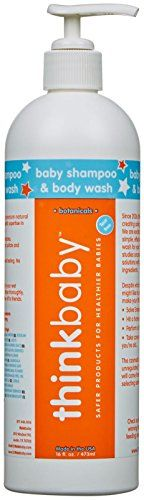 Baby Shampoo and Body Wash - Pump, Papaya - 16 oz Since has been creating safe products for little ones. We are excited to now. Body Shampoo, Baby Body, Natural Baby, Body Wash, Pumps, Skin Care, Products, Skincare, Pump Shoes