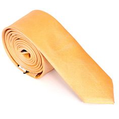 @Overstock - Fun and fresh, this light orange tie from Skinny Tie Madness will create a mod look for any ensemble. Knot this thin necktie on to give your look classy, updated style.http://www.overstock.com/Clothing-Shoes/Skinny-Tie-Madness-Mens-Orange-Skinny-Tie/6965361/product.html?CID=214117 $17.24