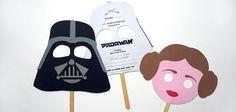 Máscaras de Star Wars para imprimir: máscaras para imprimir, en cartulina, en goma eva, ideales para cumpleaños temáticos de Star Wars y disfraces.