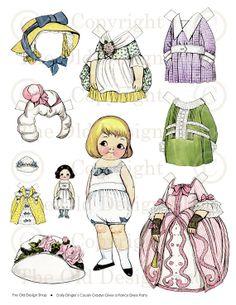 (⑅ ॣ•͈ᴗ•͈ ॣ)                                                                 ✄Vintage Paper Dolls