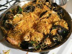 Mark Bittman's Fideua (a Spanish noodle paella) More
