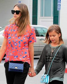 Is Jessica Alba's ombré hair inspired by her daughter?