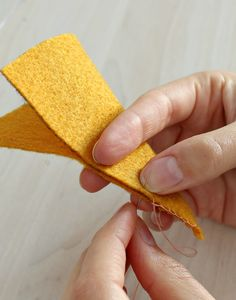 sewing felt