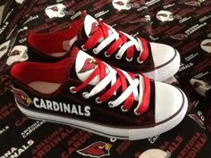Arizona cardinals tennis shoes please read by sportzshoeking