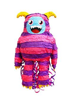 Zombie Girl Monster Pull String Pinata