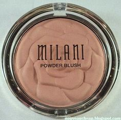 Milani limited edition Coming Up Roses Powder Blush in Warm Petals