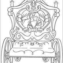 The Prince married Cinderella and they lived happily ever after! The Cinderella coloring pages can be decorated online with the interactive coloring ...