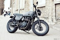 Bonneville T100 by Renard Speed Shop