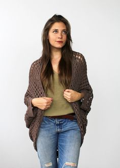 Whether you're cozying up on the couch or hitting up the local theater, the  Movie Night Cocoon Cardi is the perfect addition to your ensemble. Like the  hug of a blanket, this shrug-style cardigan comfortably drapes over