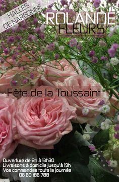 Livraison bouquet de fleurs pour la Toussaint à Narbonne chez votre fleuriste le dimanche 1er novembre 2015