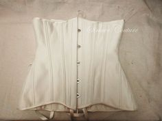 Basic underbust  plain tight lacing corset by SinnerCouture, $300.00