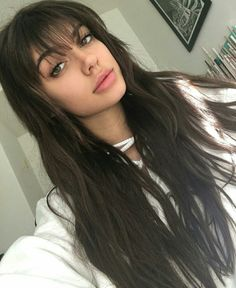 55 Dope Long Haircuts with Bangs: Tips on Wearing Fringe Hairstyles – Latest Hairstyles bob hairstyles Long Haircuts With Bangs, Long Fringe Hairstyles, Latest Hairstyles, Hairstyles Haircuts, Haircuts With Fringe, Layered Hairstyles, Long Hairstyles With Layers, Evening Hairstyles, Braid Hairstyles