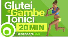 Gambe e Glutei tonici in 20 Minuti - Esercizi Fitness per Tonificare
