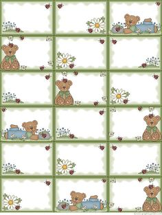 So many free printable thing here stationery,note papers, greeting cards and calanders and so cute to boot. Printable Labels, Free Printables, Calander Printable, Book Labels, Planner Stickers, Small Cards, Note Paper, Printing Labels, Digi Stamps