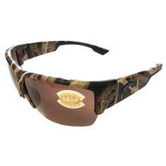 656f4ed26c Costa Del Mar Hatch Sunglasses – Mossy Oak SGB Camo Frame – Polarized  Copper Lens 580P